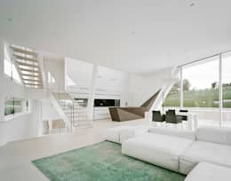 modern Living room by project a01 architects, ZT Gmbh