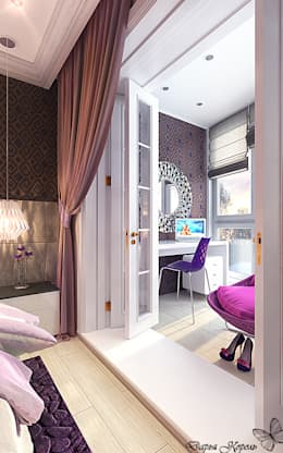 bedroom with dressing room: Спальни в . Автор – Your royal design