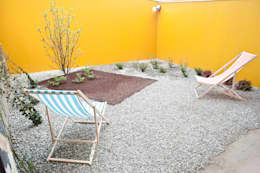 Jardines de estilo industrial por TRA - architettura condivisa