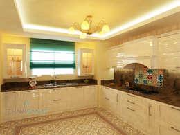 Projekty,  Kuchnia zaprojektowane przez TEKNİK SANAT MİMARLIK LTD. ŞTİ.