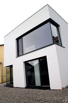 minimalistische Huizen door di architekturbüro