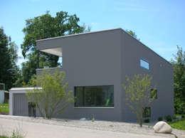 EFH Steinbreite, Ehrendingen, 2009: moderne Häuser von 5 Architekten AG
