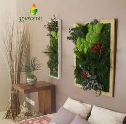 décoration intégrale de chambre: Chambre de style de style Moderne par 3dvegetal