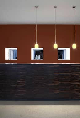 moderne Studeerkamer/kantoor door Dipl.-Ing. Michael Schöllhammer, freier Architekt