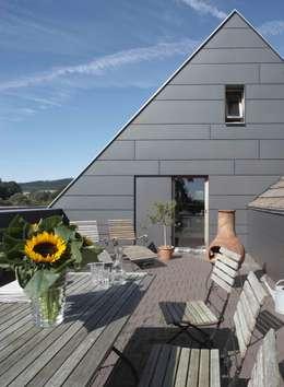 Dachterrasse:  Terrasse von Dipl.-Ing. Michael Schöllhammer, freier Architekt