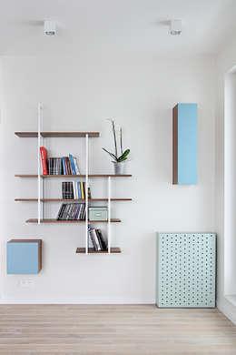 Apartament SW: styl , w kategorii Salon zaprojektowany przez PB/STUDIO