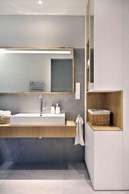 Apartament SW: styl , w kategorii Łazienka zaprojektowany przez PB/STUDIO