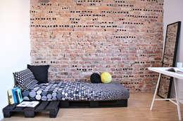 Mieszkanie studenckie: styl , w kategorii Sypialnia zaprojektowany przez PB/STUDIO