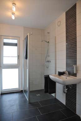 Projekty,  Łazienka zaprojektowane przez STREIF Haus GmbH