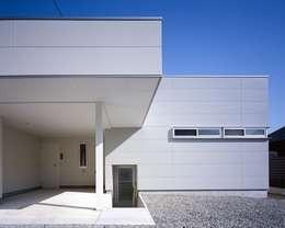 Casas de estilo moderno por 有限会社アルキプラス建築事務所