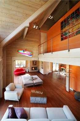 Ruang Keluarga by alberico & giachetti architetti associati