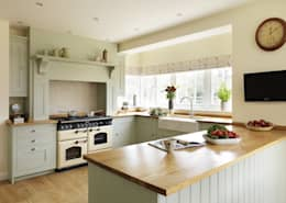 Projekty,  Kuchnia zaprojektowane przez Harvey Jones Kitchens