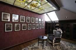 Загородная жизнь (дом 2000 кв.м.): Рабочие кабинеты в . Автор – Дизайн интерьера Проценко Андрея
