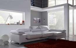 scandinavian Living room by Gamamobel Spain
