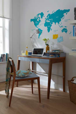 Paredes y pisos de estilo moderno por diewohnblogger