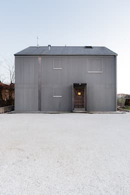 minimalistische Huizen door paolo carlesso architetto