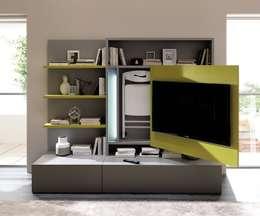 Smartlivining Wohnwand Minimalistische Wohnzimmer Von Livarea