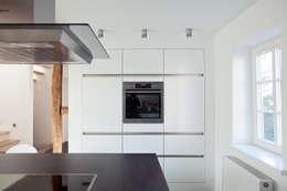 modern und traditionell stilvoll vereint - Fachwerk Wohnzimmer Modern