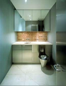 Peter Bell Architects의  화장실