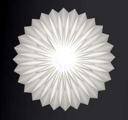 minimalistische Woonkamer door Nachtfalter