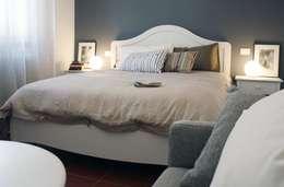 غرفة نوم تنفيذ Dair Architetti Associati