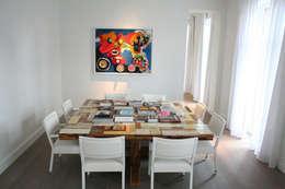 Appartement Antwerpen, België: moderne Eetkamer door By Lenny