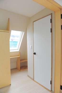 임조의 오두막 : AAPA건축사사무소의  침실