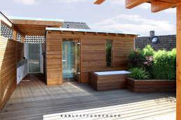 Dachterrasse - Nachher:  Terrasse von Karl Kaffenberger Architektur | Einrichtung