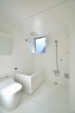 Niji Architects/原田将史+谷口真依子의  화장실