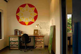 rustic Study/office by The Orange Lane