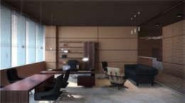 """Кабинет. Москва. """"Блаудерман Бюро"""": Рабочие кабинеты в . Автор – Блаудерман Бюро"""
