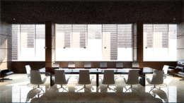 "Зал совещаний и переговоров. Москва. ""Блаудерман Бюро"": Конференц-центры в . Автор – Блаудерман Бюро"
