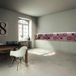 Combi - ABK: Cucina in stile in stile Moderno di Ceramiche Addeo