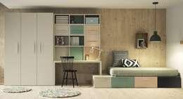 modern Nursery/kid's room by Yupih