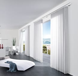 modern Windows & doors by interstil Vorhanggarnituren