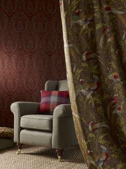 tropische Woonkamer door Indes Fuggerhaus Textil GmbH