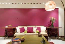 modern Living room by The Orange Lane