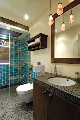modern Bathroom by The Orange Lane