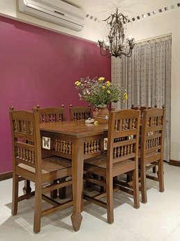 modern Dining room by The Orange Lane