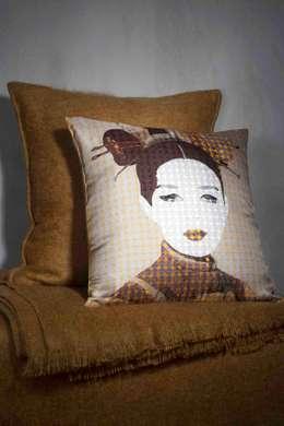 Coussin Geisha: Maison de style  par emotis