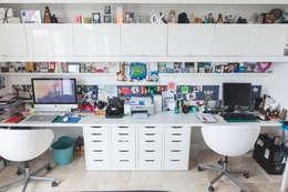 Bureau: Bureau de style de style Moderne par Lise Compain