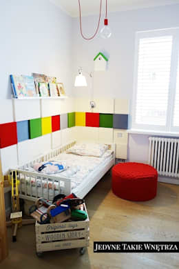 Skandynawskie inspiracje w pokoju dziecięcym: styl , w kategorii Pokój dziecięcy zaprojektowany przez JedyneTakieWnętrza