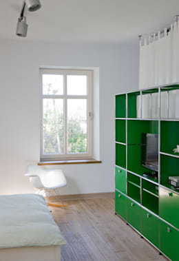 Спальная комната  в . Автор – REFORM Konrad Grodziński