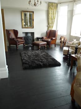 modern Living room by Chaunceys Timber Flooring