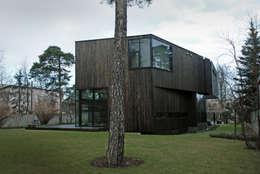 minimalistische Huizen door SDA - SZCZEŚNIAK DENIER ARCHITEKCI