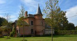 Petit Manoir Normand: Maisons de style de style Classique par AGENCE APOLLINE TERRIER