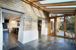 Projekty,  Ogród zimowy zaprojektowane przez Hart Design and Construction
