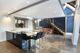 Projekty,  Kuchnia zaprojektowane przez Hart Design and Construction