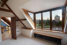 landelijke Slaapkamer door Hart Design and Construction