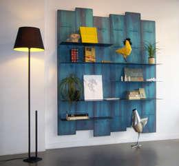 Mighali_Faggiano studio: endüstriyel tarz tarz Oturma Odası